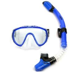 ebe1e4c0211 Professional Snorkel   Antifog Scuba Diving Mask