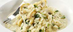 Chicken risotto met kastanjechampignons | Lekker Tafelen