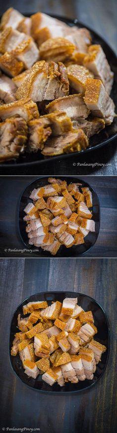 How To Cook Super Crispy Lechon Kawali - Panlasang Pinoy