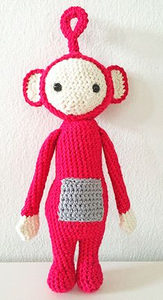Teletubbies Knitting Pattern : 1000+ images about Strik, h?kling, broderi on Pinterest Amigurumi, Free Pat...