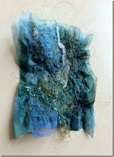 Ideas for fashion art textiles texture Textile Texture, Textile Fiber Art, Textile Artists, Creative Embroidery, Embroidery Art, Fashion Art, Fashion Textiles, Techniques Textiles, Inchies
