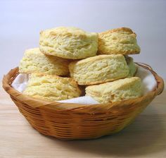 Freezer Buttermilk Biscuits.. I think homemade biscuits and gravy will be on the menu sometime soon!!