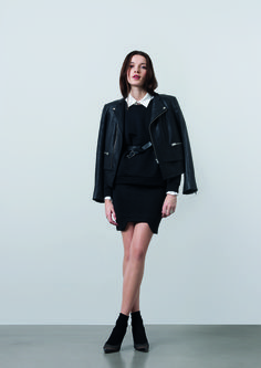 http://www.gatrimon.com/eshop/fr/ Jacket : LIAM Sweater : POPEYE Shirt : ANA Skirt : SPIN