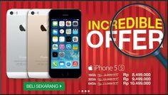 Incredible Offer dari Okeshop R 11, Iphone 5s, The Incredibles