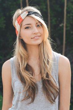 Make everyday a stellar hair day with this Patriotic headband. Boho Hairstyles, Headband Hairstyles, Teenage Hairstyles, Urban Hairstyles, Men's Hairstyle, Hairstyles Haircuts, Wedding Hairstyles, Beach Style, Head Band