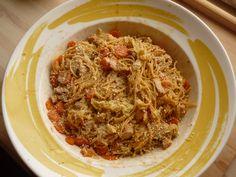 Rezept Asiatische Nudeln von Sunny152 - Rezept der Kategorie Hauptgerichte mit Fleisch