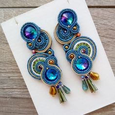 If you own valuable fashion jewelry such as diamond earrings, pendants, diamond rings, or other fine fashion jewelry products, you can keep these items for a lifetime if you look after them. Big Earrings, Pendant Earrings, Stone Earrings, Beaded Earrings, Diamond Earrings, Soutache Necklace, Ring Necklace, Boho Jewelry, Handmade Jewelry