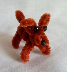 Happier Than A Pig In Mud: DIY Pipe Cleaner Puppy for Barbie