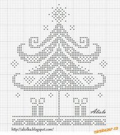 Vánoční předlohy na vyšívání ...