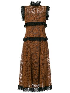 Dolce & Gabbana sheer lace dress