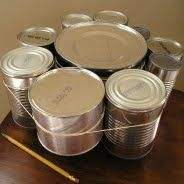Upcycling! Bring in an empty can and turn it into something amazing! December 12 at 7pm!