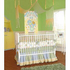 Cirque De Boy Crib Bedding