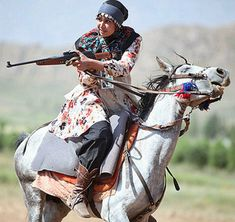 Iranian Tribal Women in Shooting and Horseback Riding Competitions Winter Quarters, Burning City, Achaemenid, Iranian Women, Tribal Women, Female Soldier, Female Photographers, Horse Girl, Women In History