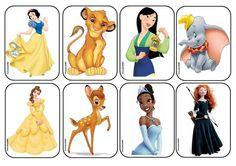 Réalisation du méli-mélo des personnages de Disney (1)