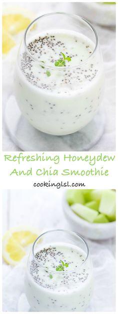 Refreshing-Honeydew-And-Chia-Smoothie