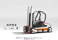 Toyota Apex Forklift - Raising The Bar on Behance