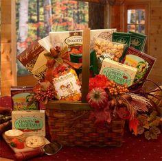 Harvest Blessings Gourmet Fall Gift Basket, $52.95