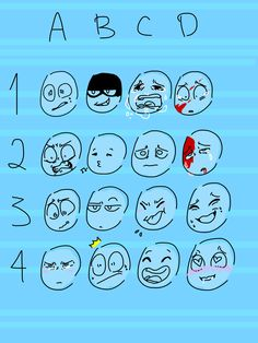 Cartoon Drawing Tips Expression meme free to use by: BluJay Drawing Reference Poses, Drawing Poses, Drawing Tips, Expression Challenge, Drawing Challenge, Drawing Meme, Cartoon Drawings, Facial Expressions Drawing, Expression Sheet
