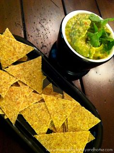 Raw Corn Chips {just corn, flax & pink himalayan salt}