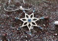 snowflake pendant by SoulFireJewellery