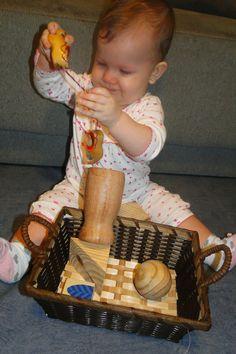 Brincadeiras bebê 7 mêses!