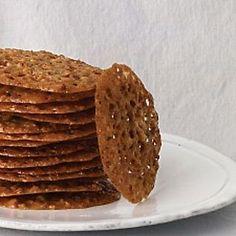 Oatmeal-Lace Cookies Recipe   Martha Stewart