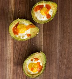 Baked Egg Avocado BoatsDelish