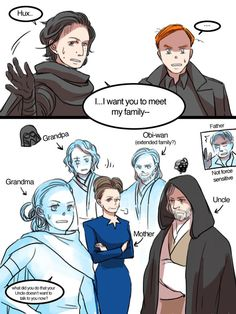 Hux meets the family