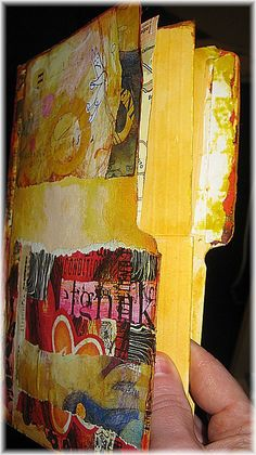 File Folder Art Journal