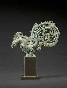 Bird shaped finial Place of Origin: Indonesia, East Java Date: approx. History Chanel, Spiritual Decor, Indonesian Art, Thai Art, Art Carved, Historical Art, Antique Lamps, Balinese, Skull Art