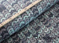 Weiteres - Baumwolljersey Laubblätter mint - ein Designerstück von Nordkind_handmade bei DaWanda
