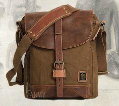 21fd66839573 Image result for CANVAS   LEATHER SLING BAGS FOR MEN Canvas Messenger Bag