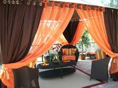 Details about Patio Pizazz Indoor Outdoor Gazebo Drapes Curtains. Outdoor Curtains For Patio, Gazebo Curtains, Indoor Outdoor, Outdoor Gazebos, Patio Gazebo, Outdoor Rooms, Backyard Patio, Outdoor Living, Indoor Garden
