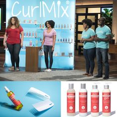 CurlMix is on Shark Tank! As our way of saying THANKS you are freaking AWESOME.shop with us and get a free tote bag ( in addition to AH-MAZING curls). Curly Hair Tips, Curly Hair Care, Natural Hair Care, Curly Hair Styles, Natural Hair Styles, Curly Hair Problems, Hair Due, Curly Girl Method, Black Hair Care