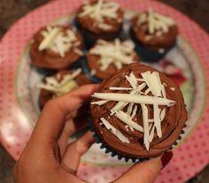TRIPLE CHOCOLATE CUPCAKES Check my recipe on my website!