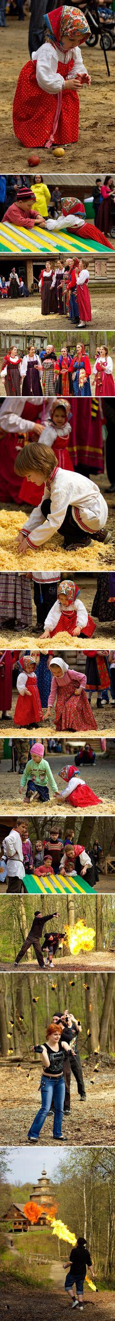 니즈니 노브고로드 '붉은언덕 축제' 현장
