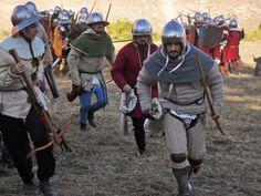 Arrow bags.  [Tempus Belli 2011 - Compagnia della Mandragora.]