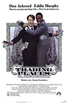"""Trading Places (1983): A modern take on Mark Twain's """"The Prince and the Pauper"""" that takes place in NYC."""