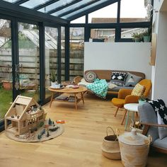 Well good morning A new year has come memories of Christmas are fading and I'm looking forward to what lies ahead. This room is House Extension Design, House Design, Patio Interior, Interior Design, Carport Plans, Living Spaces, Living Room, House Extensions, Home And Deco