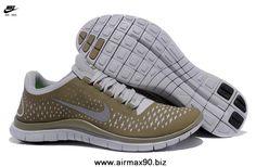 brand new 90a0f fd604 Fashion Nike Free 3.0 V4 Light Bone Reflect Silver Iguana 511457-003 Mens  Fashion Shoes