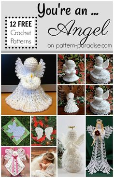 Crochet Finds - You Are An Angel! | Pattern Paradise