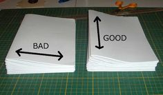 My Handbound Books - Bookbinding Blog: Bookbinding 101 - Paper Grain