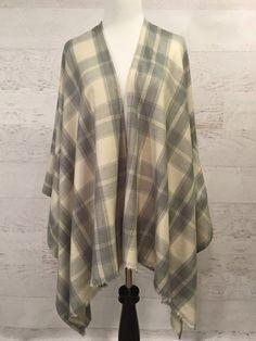 Flannel Kimono - Kimonos - Kimono Cardigan - Kimono Jacket - Kimono Coat - Flannel Kimonos - Long - Full Length Kimonos - Flannel - Plaid