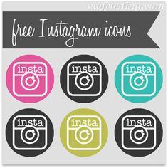 instagram social media icons @c.w.frosting   caroline vargason
