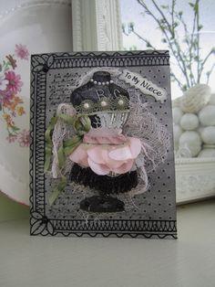 Niece Victorian Mannequin Card