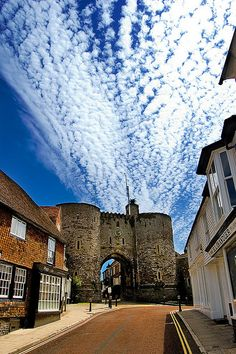 Landgate Tower, Rye, East Sussex, UK by Mike Franklin Photography For centuries Rye was an island with only one land connection at high tide to the mainland through the Landgate. It has also been used as a prison