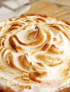 [烘焙菜鳥日誌] 壓力即是甜點「蛋白霜檸檬塔」壓力大就大口吃甜點吧! ~ 食指大動%Food-Funs