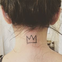 basquiat crown tattoo