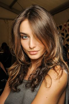 Love this natural brown hair colour