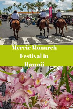 The Merrie Monarch Festival in Hilo, Hawaii caps off a week long celebration of hula, music and creative arts. This segment highlights the colorful parade that is always a wonderful finale to the celebrations. Click image for more details